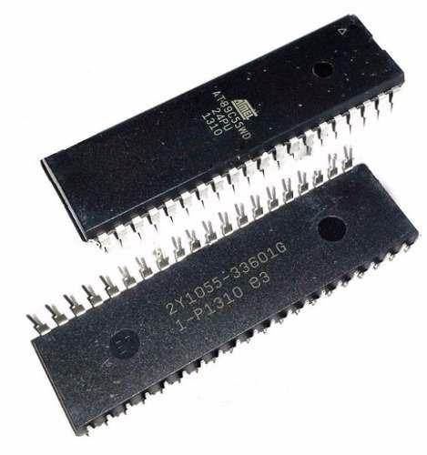 circuito integrado at89c55wd at89c55wd-24pu at89 c55wd 24pu