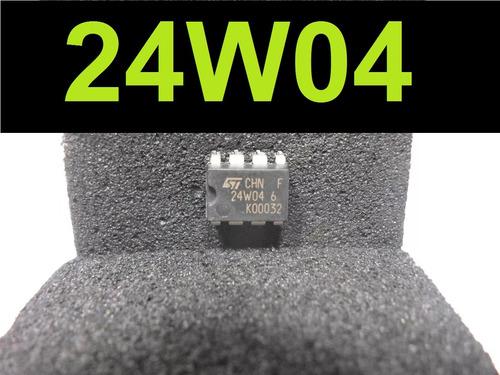 circuito integrado ci 24w04 memória eprom dip8