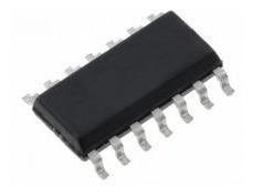 circuito integrado ci smd cd cmos 4093 com 10 pçs