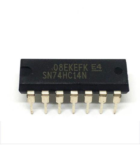 circuito integrado (ci) sn74hc14n dip14