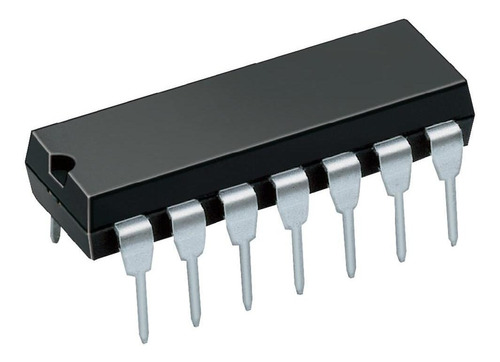 circuito integrado flip flop tipo jk 74ls73 7473 ttl