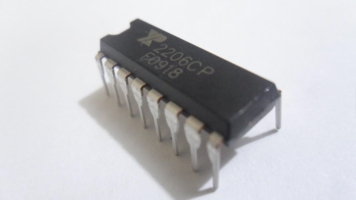 Circuito Xr2206 : Circuito integrado generador de funciones xr en
