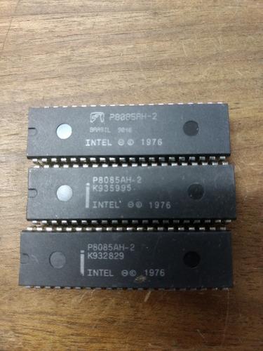 circuito integrado intel 8085 microprocessador toshiba/seime