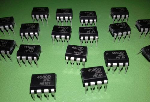circuito integrado jrc 4580d ( 26 peças )