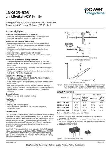 circuito integrado lnk625dg lnk625 dg smd sop7 original