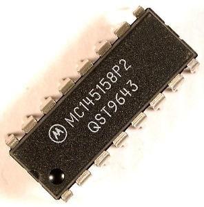 circuito integrado pll mc145158 p2 mc145158p2 dip16 original