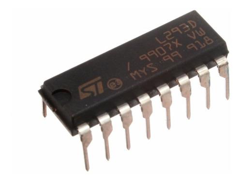 circuito integrado puente h l293d
