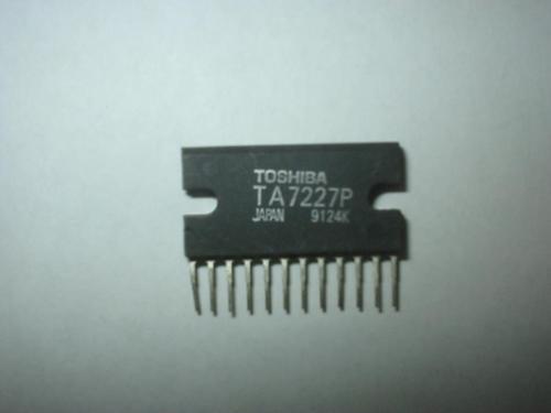 circuito integrado saida  ta7227  ta 7227