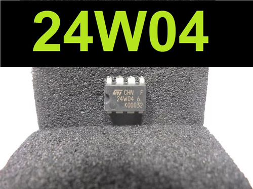 circuito integrado smd ci 24w04 memória eprom dip8