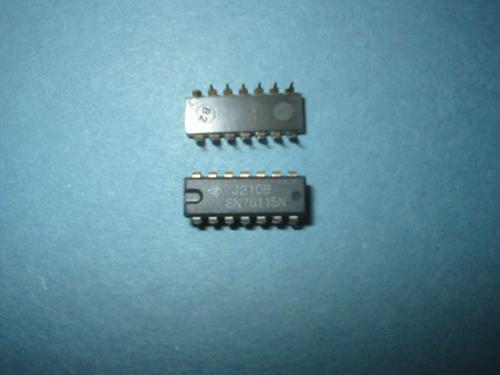 circuito integrado sn76115  sn 76115 antiguidade
