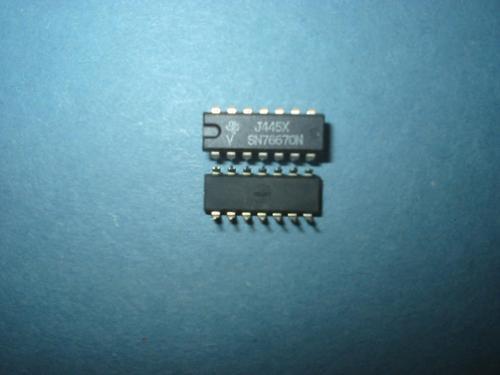 circuito integrado sn76670  sn 76670