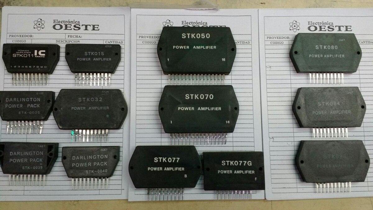 Circuito Integrado Stk011 Stk 011 25000 En Mercado Libre 20w Audio Amplifier Circuit Using Stk0025 Cargando Zoom