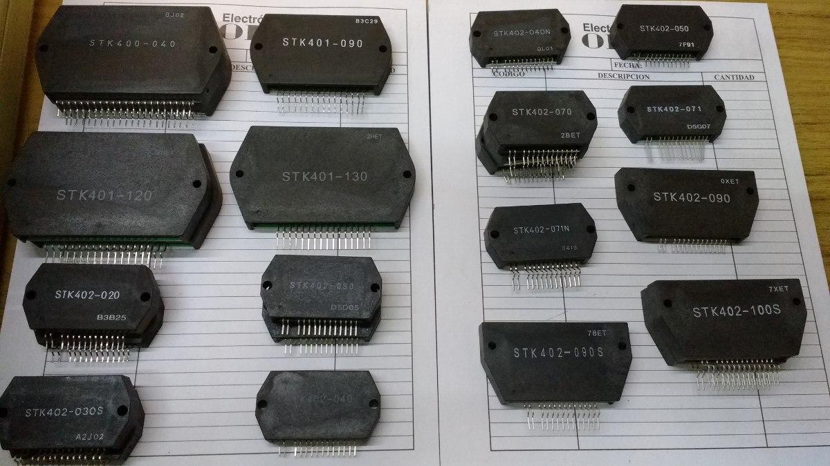 Stk084 Audio Amplifiers