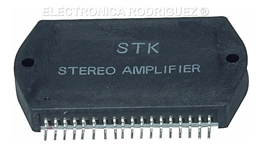 STK5482 CIRCUITO INTEGRATO