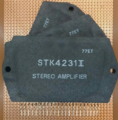 circuito integrado stk4231ii - stk 4231 ii