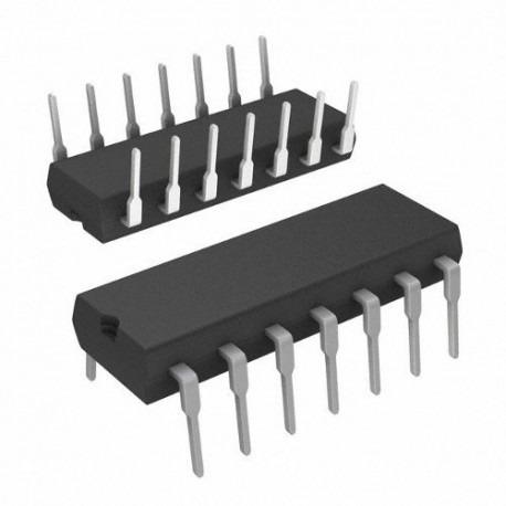 circuito integrado ttl 74ls04 hex inverter