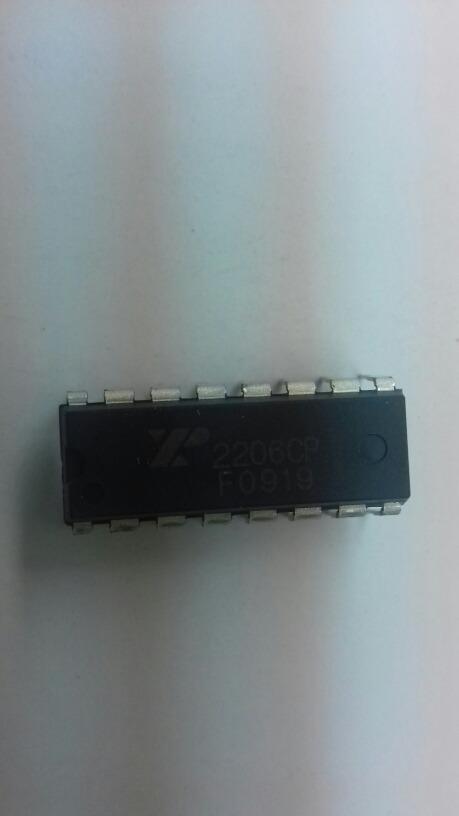 Circuito Xr2206 : Circuito integrado xr generador de funciones  en