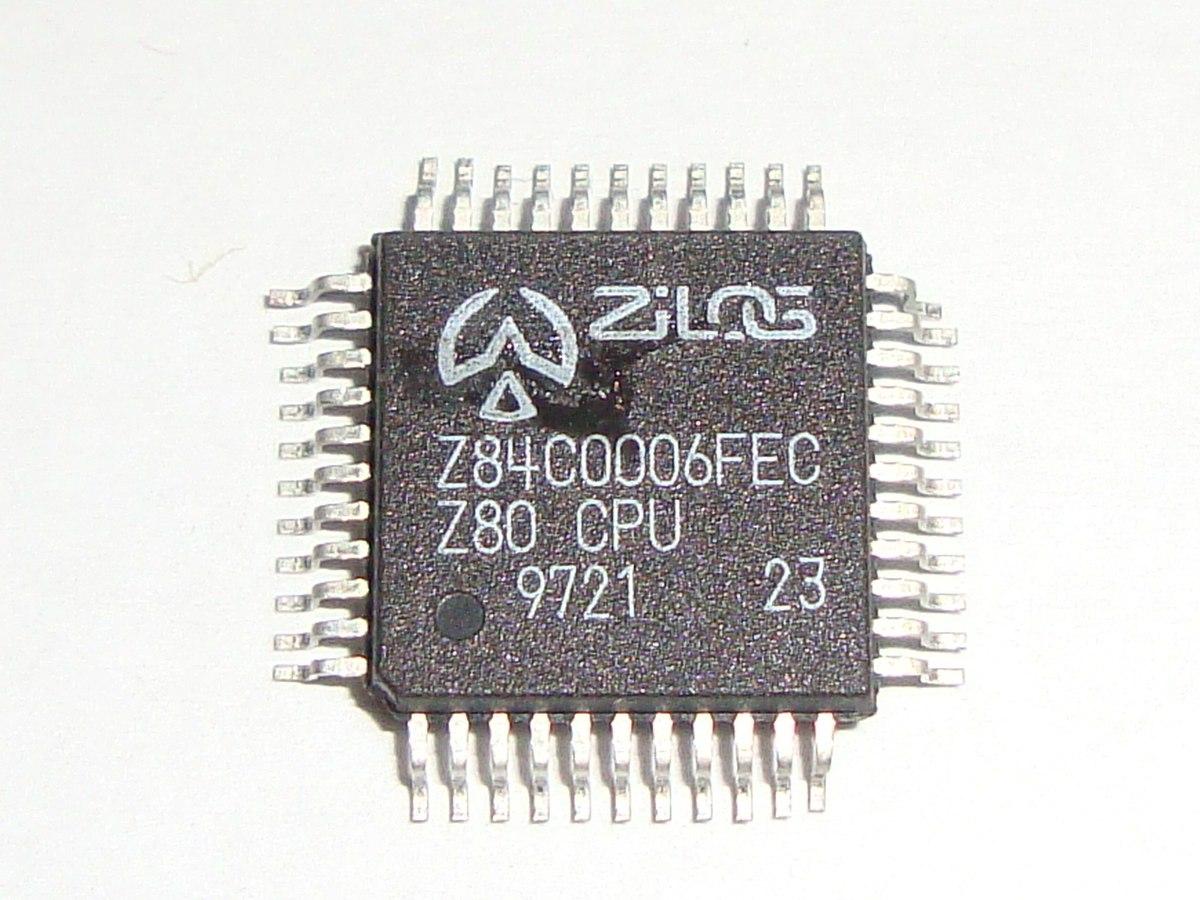 Circuito Z : Circuito integrado z84c0006fec z 84c0006 fec qfp plcc r$ 48 90