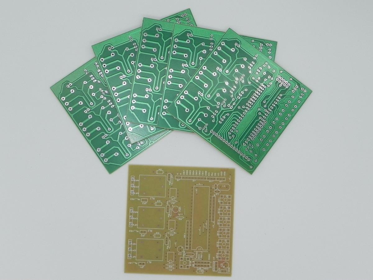 Circuito Microcontrolador Modulo Rele 8051 3 Saídas (89s52)