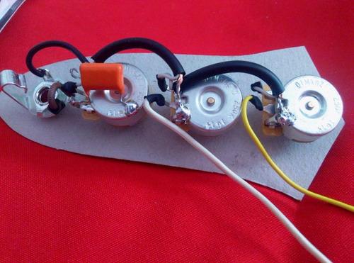 circuito p/ bajo jazz bass pasivo componentes dimarzio