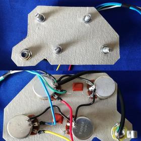 Circuito P/ Guitarra Les Paul 335 Sg Pot Alpha