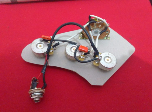 circuito pasivo guitarra/ bajo personalizado alpha dimarzio
