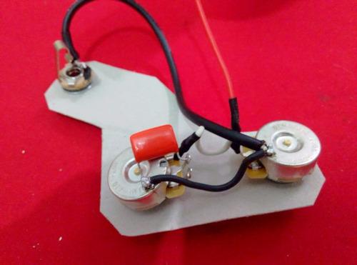 circuito pasivo para guitarra un volumen un tono dimarzio