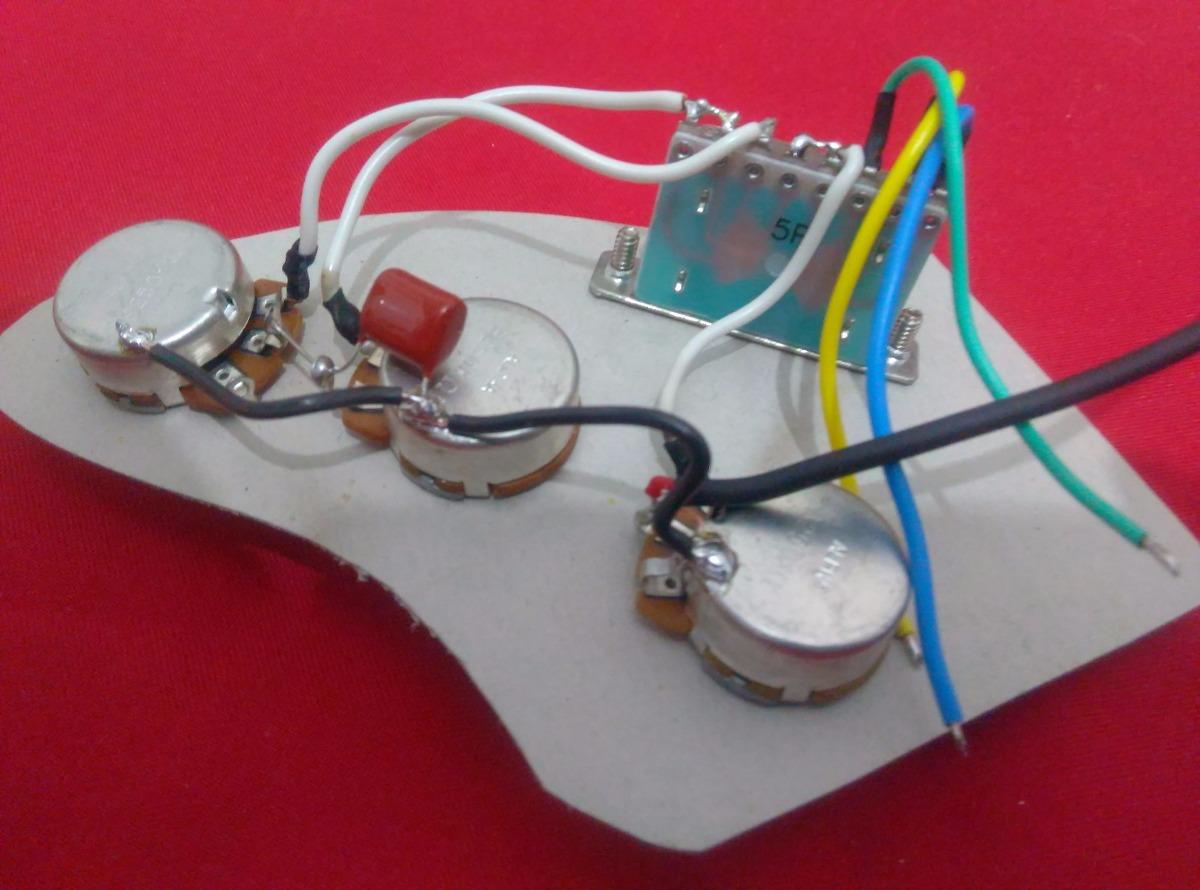 Circuito Alpha : Circuito pasivo p guitarra stratocaster pot alpha en