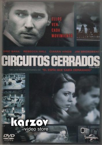 circuitos cerrados pelicula en dvd