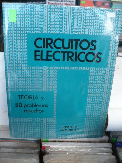Circuito Electrico En Serie : Circuitos electricos edminister serie schaum $ 500 00 en mercado