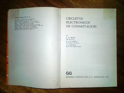 circuitos electronicos de conmutacion libro ingenieria