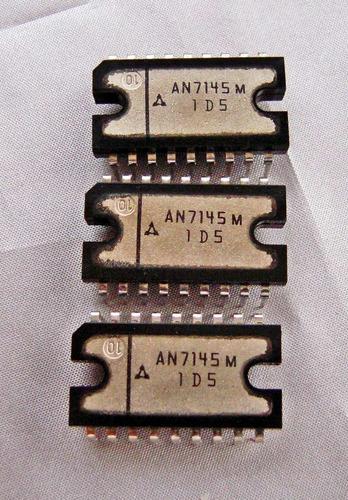 circuitos integrados an7145m originales mitsubishi®, japan