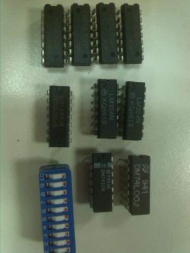 circuitos integrados electrónicos, potenciómetro (b100k)