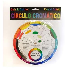 Circulo Disco Grande Cromático Color Wheel Tamanho 23,5cm