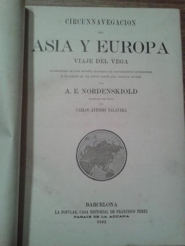 circunnavegación del asia y europa  viajes del vega