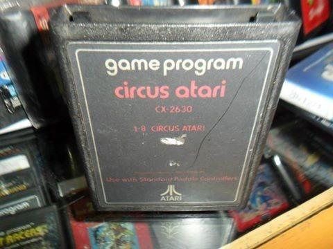 circus atari 2600 cartucho