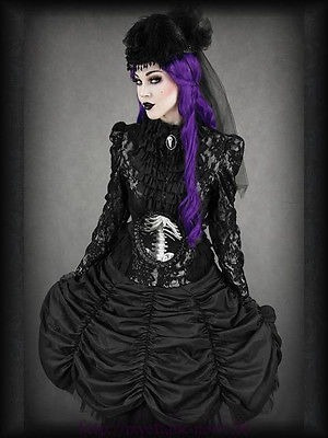circus drapped skirt marca restyle original gothic lolita
