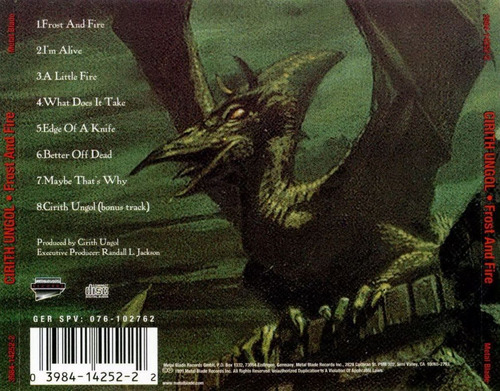 cirith ungol - frost and fire (1980)