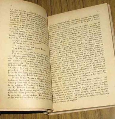ciro alegria : los perros hambrientos - novela 1957