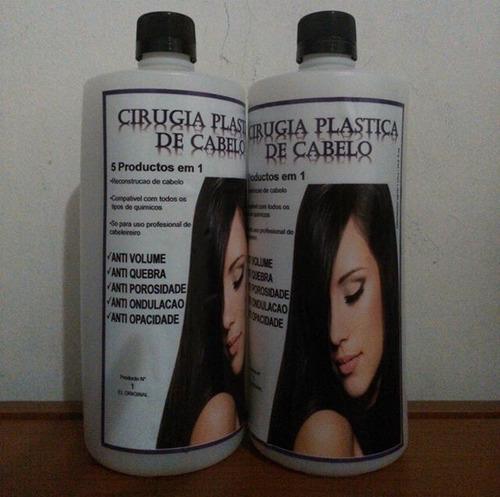 cirugía plástica capilar, directo de brasil la original.