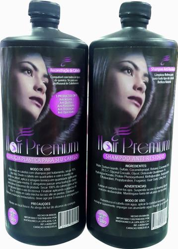 cirugía plastica capilar hair premium de litro