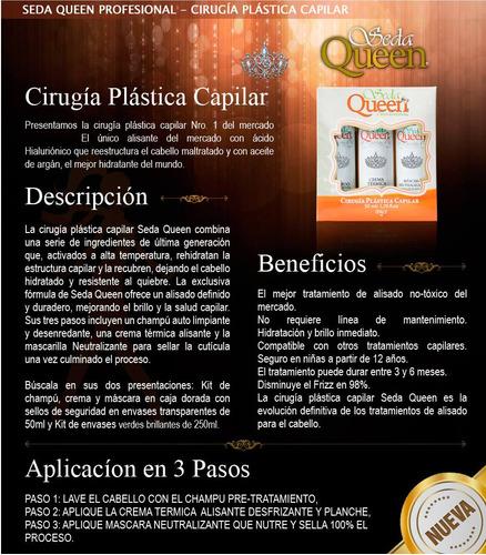 cirugia plastica capilar seda queen keratina sin formol