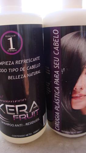 cirugia plastica para su cabello kera fruit 1lt brazilera