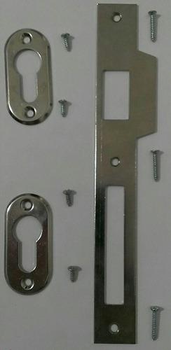 cisa hembrilla y protector de cilindro con sus tornillos