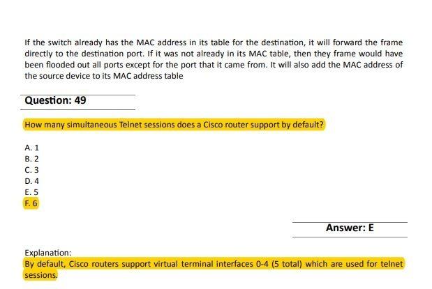 Cisco 100-105 Exam Questions & Answers (pdf) [de Justcerts]