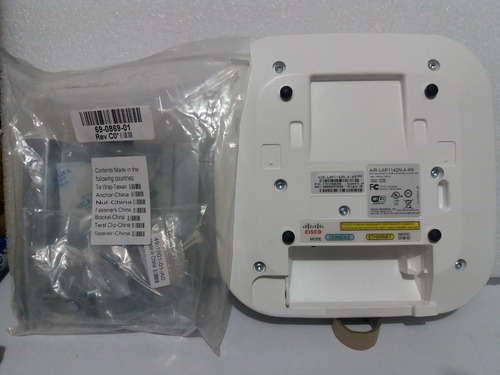 cisco access point 1142n inc. cable consola y adapt iva incl