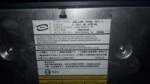 cisco catalyst 2960-24tt-l