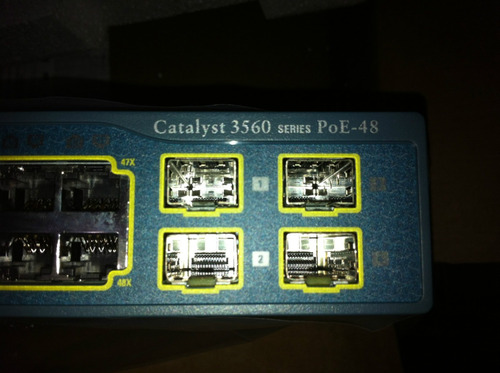 cisco catalyst 3560 ws-c3560-48ps-s 10/100mbps + 1000mbps sw