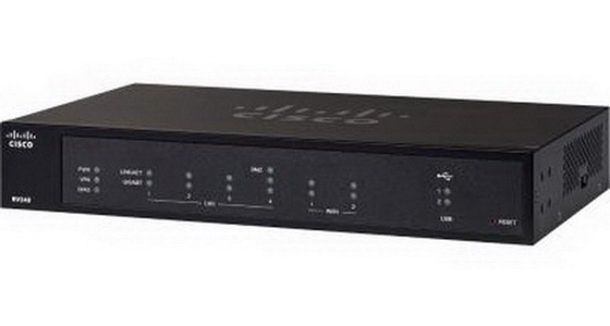 Cisco Rv340 Dual Wan Gigabit Vpn Router
