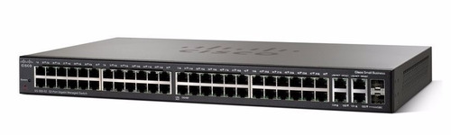 cisco sb sg300-52p conmutador l3 gestionado
